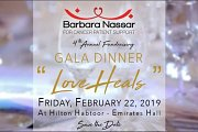 "Barbara Nassar 4th Fundraising Gala Dinner ""Love Heals"""