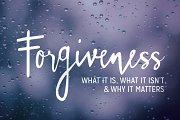 The Art of Forgiveness!