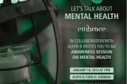 Talk: Mental Health with Embrace