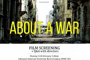 About A War Film Screening