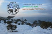 Snowsheoing in Falougha Pine Forest with Footprints Nature Club