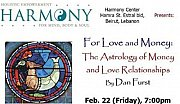 For Love & Money: The Astrology of Money and Love Relationships