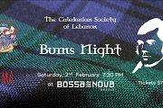 Burns Night 2019 at Bossa Nova Hotel
