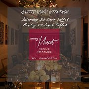 Saturday's Gastronomic Diners by CATERING BY MUSCAT MTAYLEB