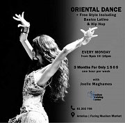 Oriental Dance at Beeboo Training Center