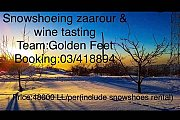 Snowshoeing Zaarour & Wine Tasting with Golden Feet