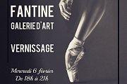 Fantine Galerie d'Art Opening