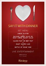 Valentine Dinner at Riviera Hotel & Beach Lounge