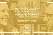 Movie & discussion on relationships: Annie Hall by Woody Allen - Event by I Have Learned Academy