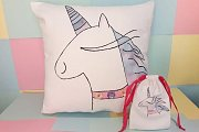 Decorated Pillow at Alwan Salma