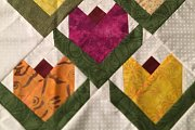 Patchwork Tulip Paper Piecing at Alwan Salma