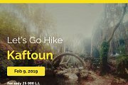 Let's Go Hike In Kaftoun with Let's Go