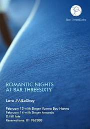 Valentine's at Bar ThreeSixty