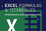 EXCEL FORMULAS & TECHNIQUES: Intermediate & Advanced Level