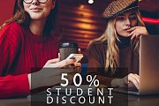 50% STUDENT Discount at Riviera Hotel & Beach Lounge