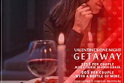 Valentine Getaway with in-Room Dinner
