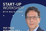 START-UP WORKSHOP WITH WALID HANNA