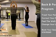 Back & Posture Program  at Classes Studio