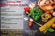 Cooking Class with Chef François El-Aaraj