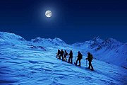 Super Full Moon Snowhoeing with Wild Adventures