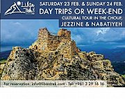 Cultural Day trips or Weekend in the CHOUF and NABATIYEH with Liban Trek