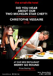 Did you Hear About our 2 Michelin * Chef?!