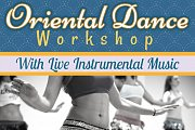Oriental Dance Workshop With Live Tabla Music