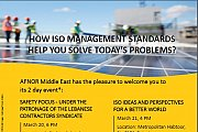 How ISO Management Standards Help you Solve Today's Problems? - Achrafieh