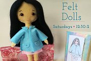 Felt Dolls at Alwan Salma