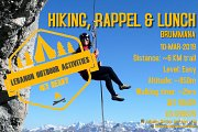 HIKING, RAPPEL & LUNCH in Brummana with LEBANON OUTDOOR ACTIVITIES