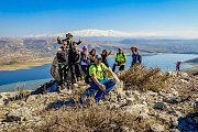 Hiking from Ain Zebde to Saghbine Overlooking the Qar3oun Lake