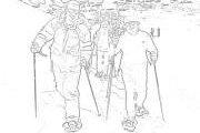Randonnée à raquettes à Zaarour -  Club des Vieux Sentiers