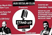 AUB Secular Club: Awk.word Stand-Up Comedy