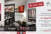 """""""For Art's Sake"""" Art Rental Show"""