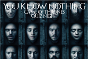You Know Nothing GOT Quiz Night