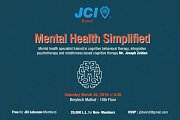 Mental Health Simplified by Mr. Joseph Zeidan | JCI Beirut