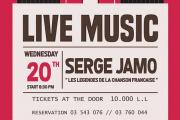 """Serge chante """"Les Légendes De La Chanson Française """""""