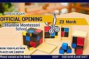 Lebanese Montessori School Official Opening
