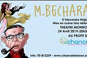 M.Bechara Theatre d'Alexandre Najjar au profit de l'association CHANCE