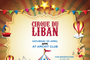 Cirque Du Liban at Amchit Club