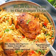 Biryani Cooking Workshop