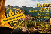 CAMPING & HIKING BROUMMANA with LEBANON OUTDOOR ACTIVITIES