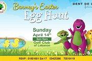 Barney's Easter Egg Hunt!