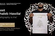 "Meet Ghaleb Hawila ""Calligraphy is me"""