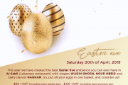 Easter Eve at Regency Palace Hotel