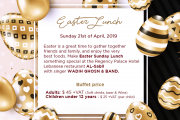 Easter Lunch at Regency Palace Hotel