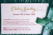 Palm Sunday at Regency Palace Hotel