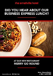 Business Lunch Express at Merry Go Round
