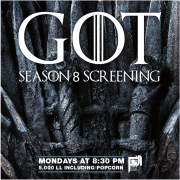 Game of Thrones Season 8 Screening at Aleph B