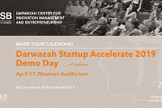 Darwazah Startup Accelerate 2019 - Demo Day